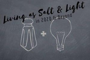 salt shaker and light bulb on chalkboard background